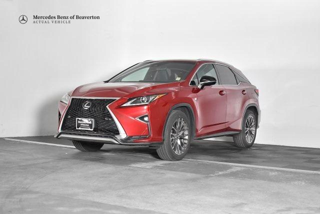 Pre-Owned 2016 Lexus RX 350 AWD 4dr F Sport