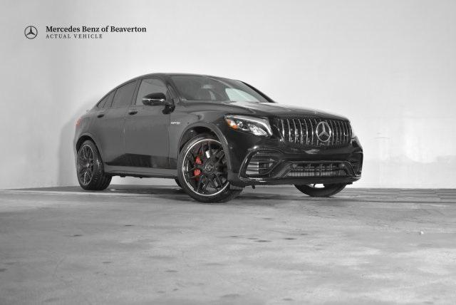 Pre-Owned 2019 Mercedes-Benz GLC AMG® GLC 63 S Coupe