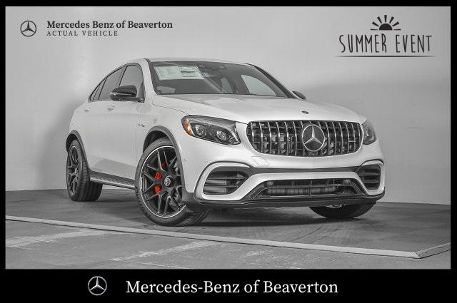 New 2019 Mercedes Benz Amg Glc 63 S Coupe Awd 4matic
