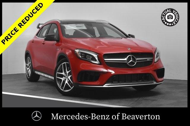 New 2018 Mercedes Benz Gla Amg Gla 45 Suv Suv In Portland