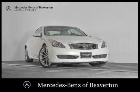 Pre-Owned 2010 INFINITI G37 2dr Base