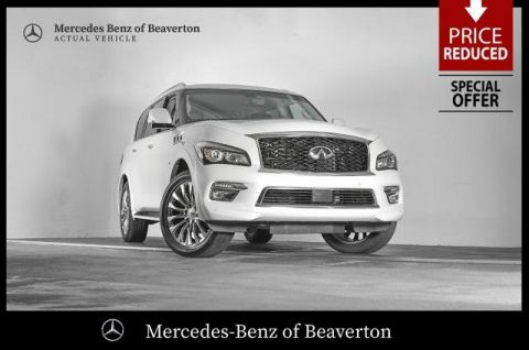 Pre-Owned 2015 INFINITI QX80 4WD 4dr