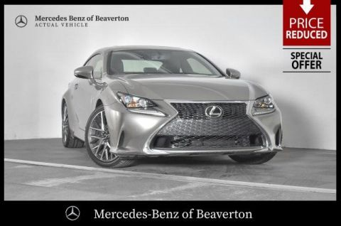 Pre-Owned 2016 Lexus RC 200t 2dr Cpe