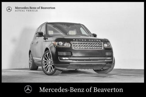 Pre-Owned 2017 Land Rover Range Rover V8 Supercharged Autobiography SWB