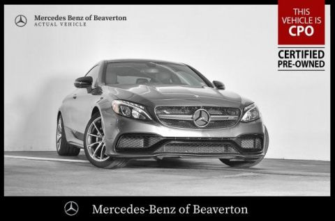 Certified Pre-Owned 2017 Mercedes-Benz C-Class AMG® C 63 Coupe